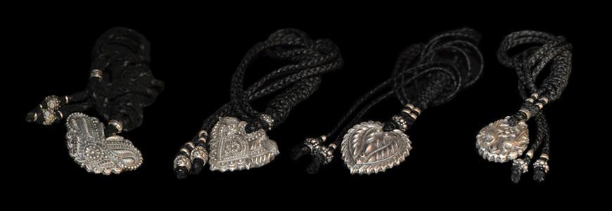 silver amulets