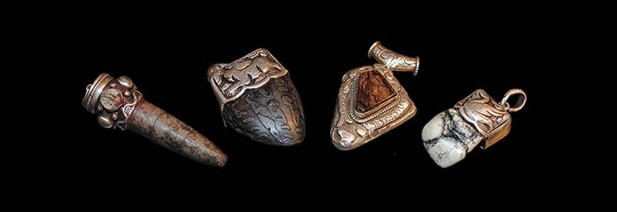 silver pendants tibetan