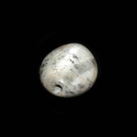 Massive White-Silver Moonstone Bead