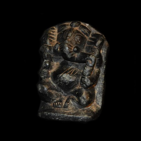 Antique stone Ganesha