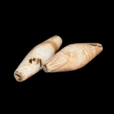 Naga conch shell beads