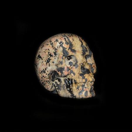 Jasper Stone Skull