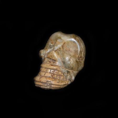 Precolumbian Taino Stone Skull / Ancestor Head
