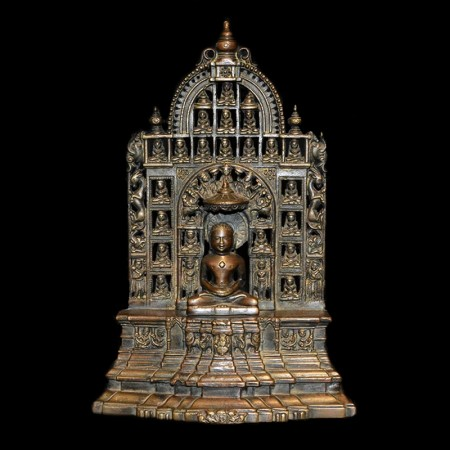 Antique Jain Bronze Statue
