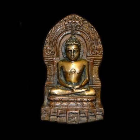 Old Jain statue