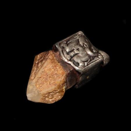 Szepter quartz silver pendant