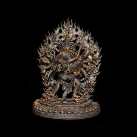 Chakrasamvara – Vajravarahi Bronze Statue