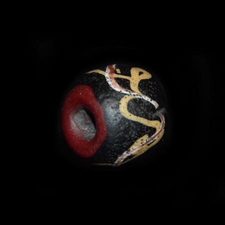 Ancient Islamic Glass Bead