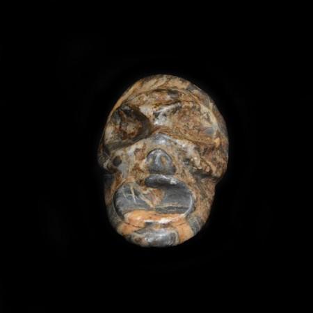 Ancient Precolumbian Taino Stone Skull