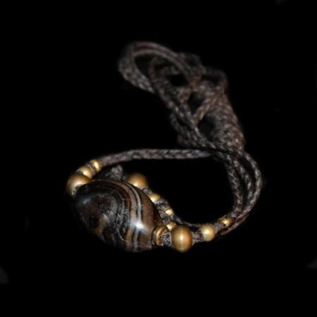 Ancient Agate Bead Choker