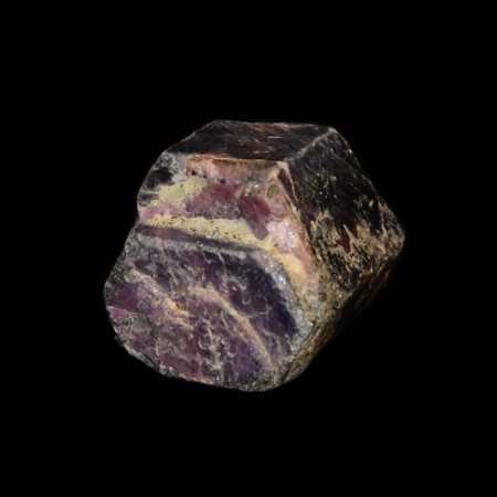 Large purple hexagonal sapphire