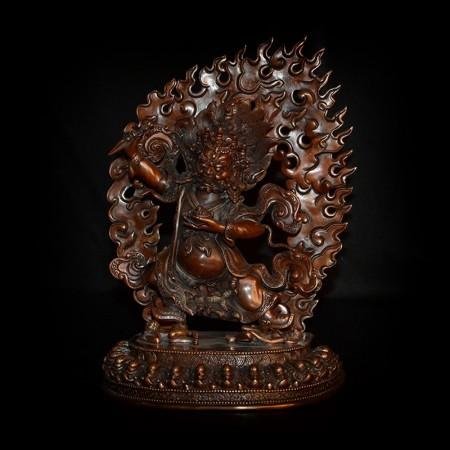 Vajrapani bronze statue