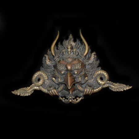 Large Garuda Bronze - Brass Mask
