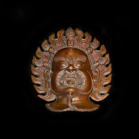 Mahakala Copper Mask