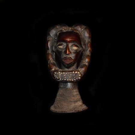 African Rasta Wood Statue