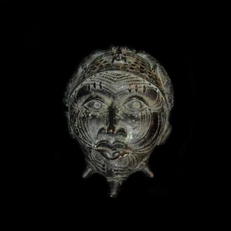 Benin Bronze Mask