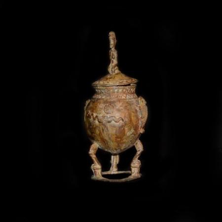 Senufo Lost Wax Bronze Pot