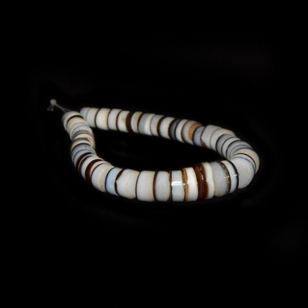 Ancient Agate Disc Beads