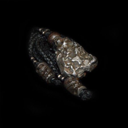 Campo Del Cielo Meteorite Skull Talisman
