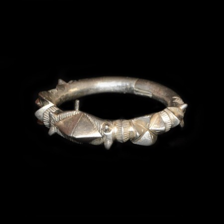 Rare Akan / Asante Silver Bracelet