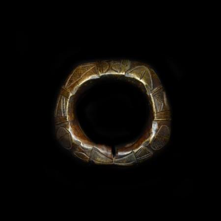 Large massive Bronze Manilla / Bracelet