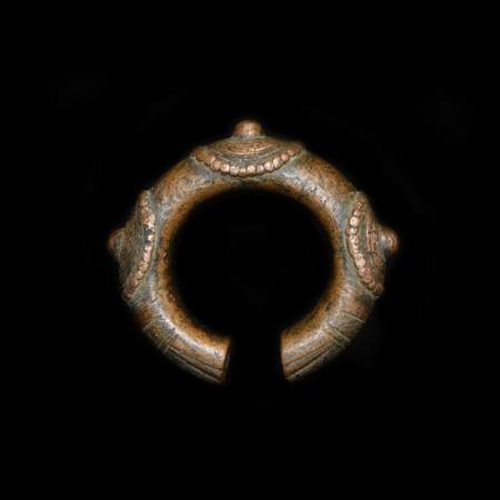 Antique African Copper Manilla Bracelet