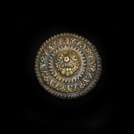 Antique Hindu Bronze Dye Weight