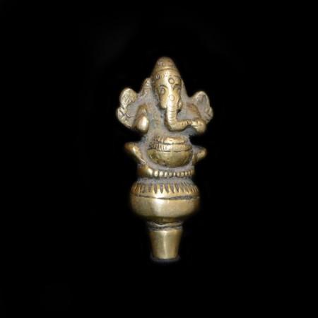 Antique Brass Ganesha