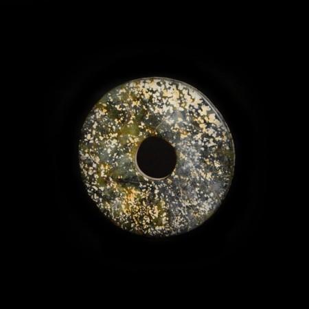 Hongshan Jade Bi Amulet
