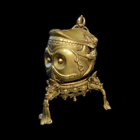Golden Skull Kapala