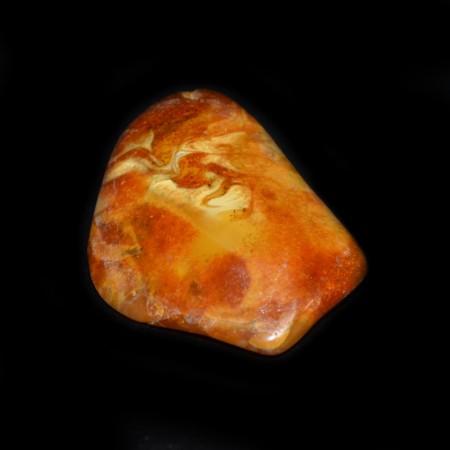 Antique butterscotch Amber Pendant