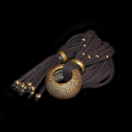 Antique Ethiopian Wedding Ring Amulet