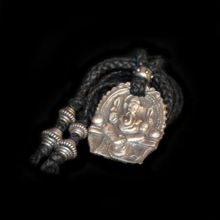 Ganesha Silver Amulet