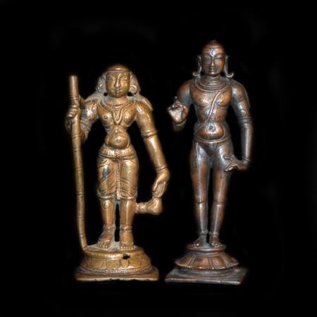 Hindu Monk Figurines