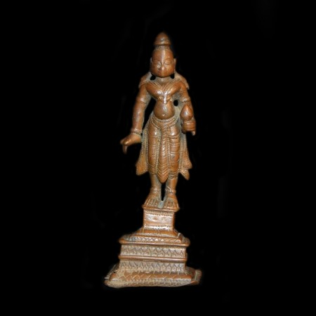 Antique Hindu Bronze Figurine
