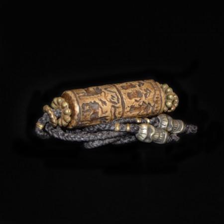 Antique Babylonian Seal Bead Choker