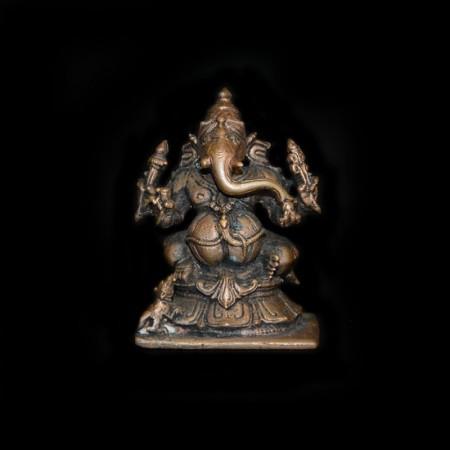Vintage Copper Ganesha