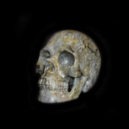 Labradorite Skull