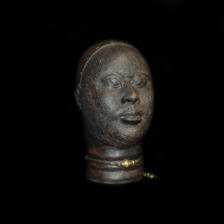 Bronze Kings Head, Benin