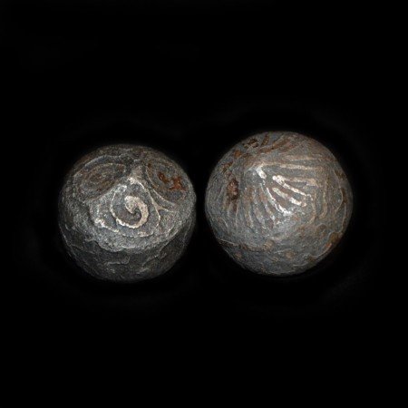 Mystic rare antique Iron Balls