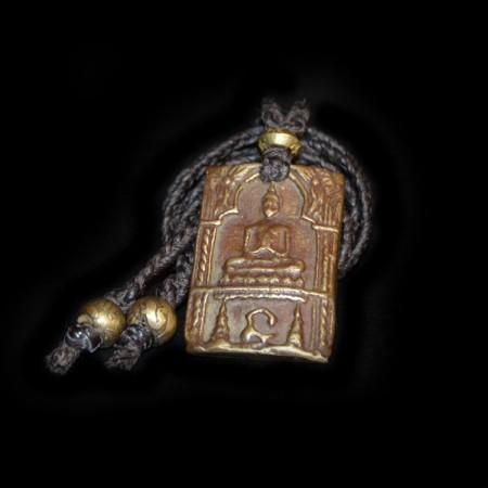 Buddha Brass Amulet Talisman