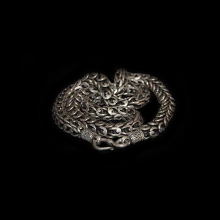 Antique Ethnic Silver Chain