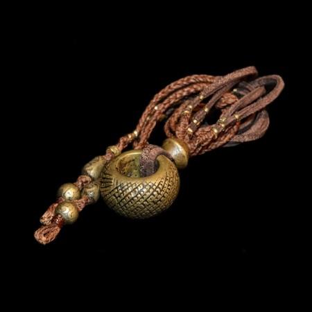 Antique large wedding ring amulet