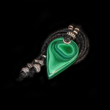 Malachit Amulett Talisman