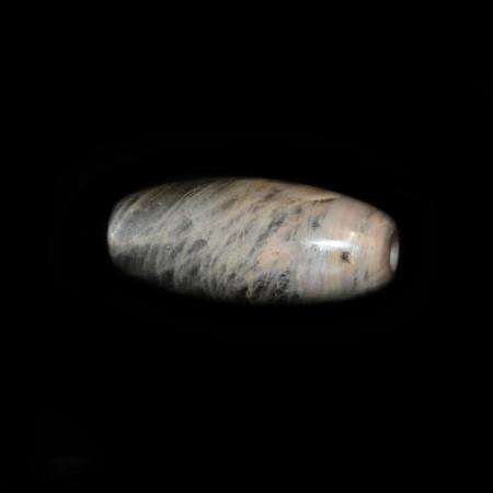 Grosse silberne Mondstein Perle