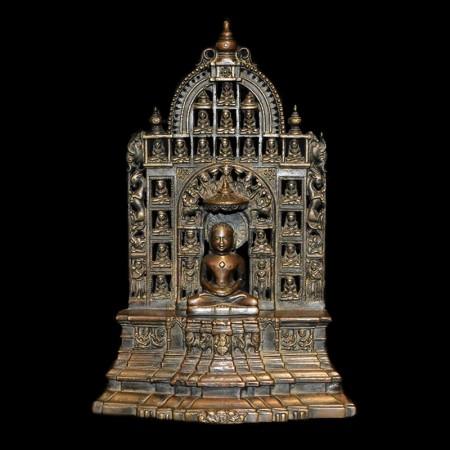 Antike Bronze Jain Statue