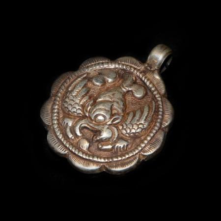 Garuda Silberamulett
