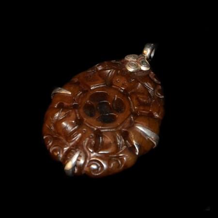 Steincarving Silberanhänger