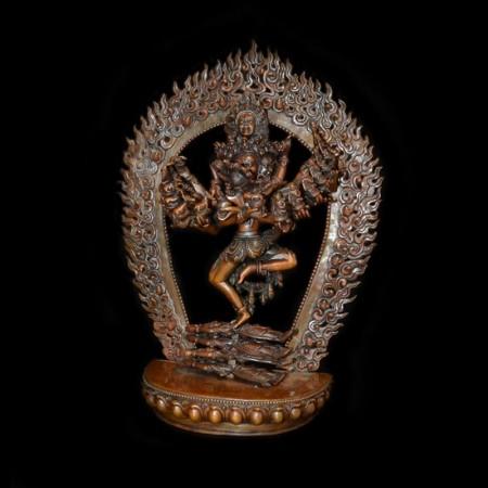 Hevajra & Nairatmya Yab-Yum Bronze Statue
