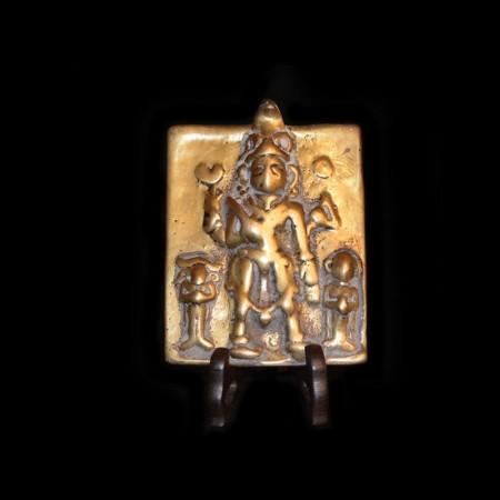 Antike Indische Götter Platte